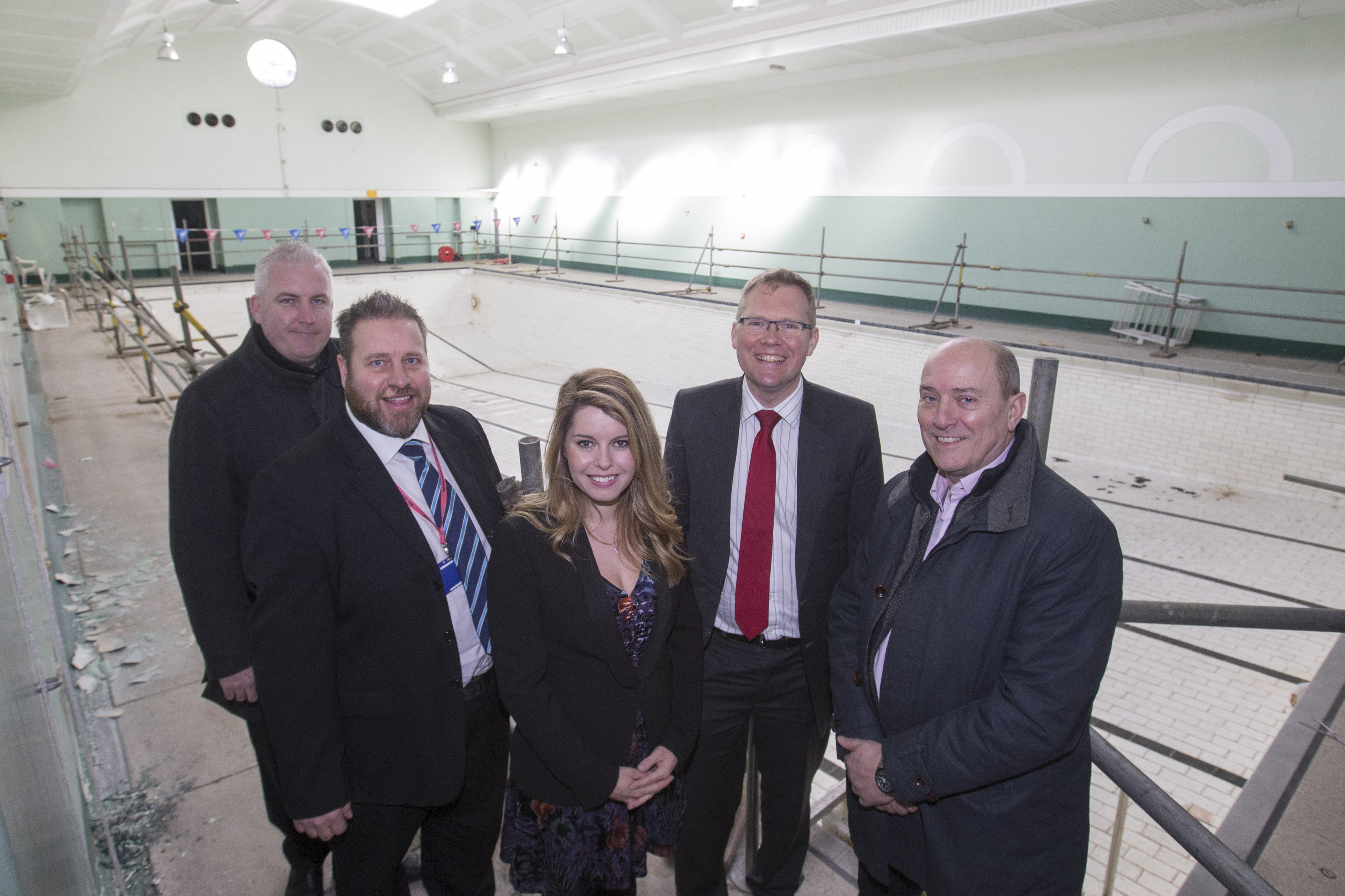 Works begin on historic Newcastle City Pool and Turkish Baths