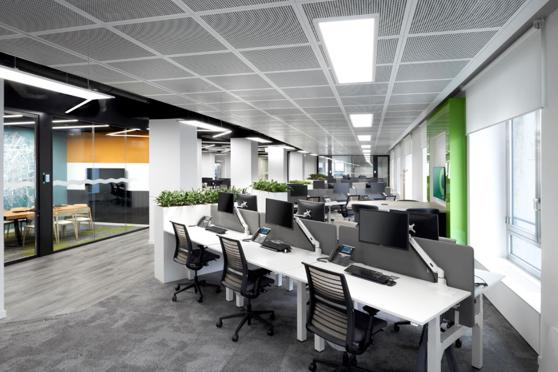 Armstrong Ceiling Solutions help the CBRE with a hat-trick of systems