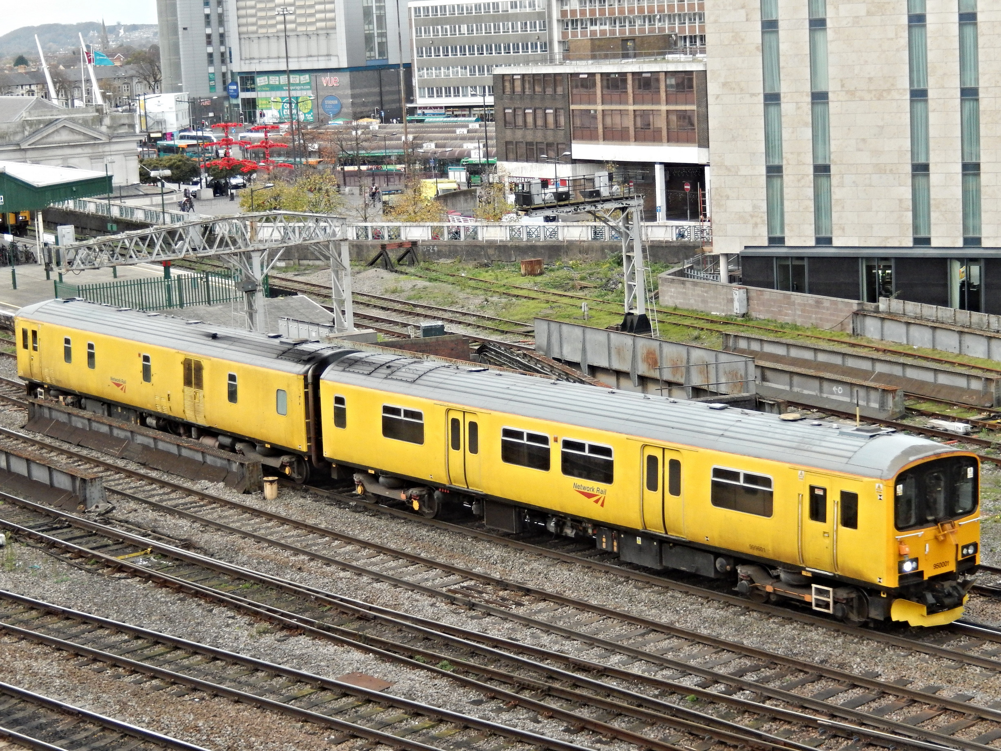 Upgrade Plan from Network Rail