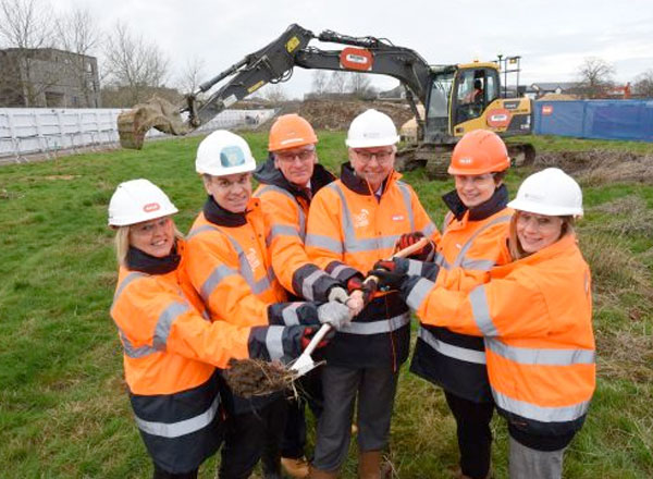 Bouygues Breaks Ground at Cambridge Laboratory