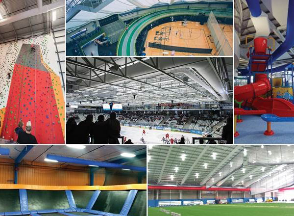 Best Ventilation for Sports Facilities