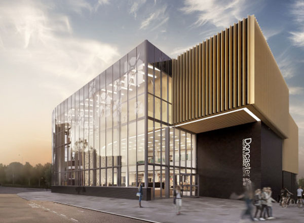 Willmott Dixon Delivers Doncaster Central Library and Museum