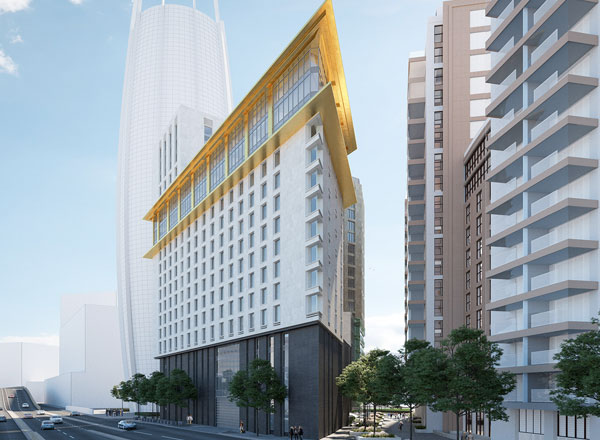 Construction Begins on Paddington Hotel