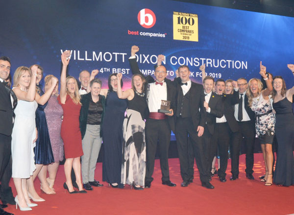 Wilmott Dixon - One of the Top Companies to Work for