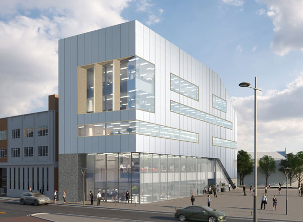 Leicester Office Development Approaches Completion