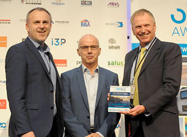 Manchester Project Recognised at Offsite Construction Awards