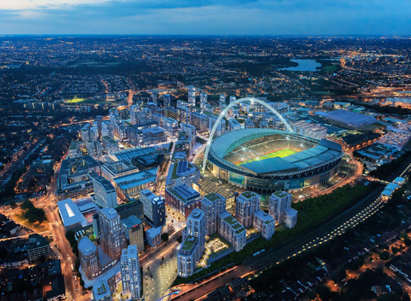 Quintain Awards Wembley Park Project