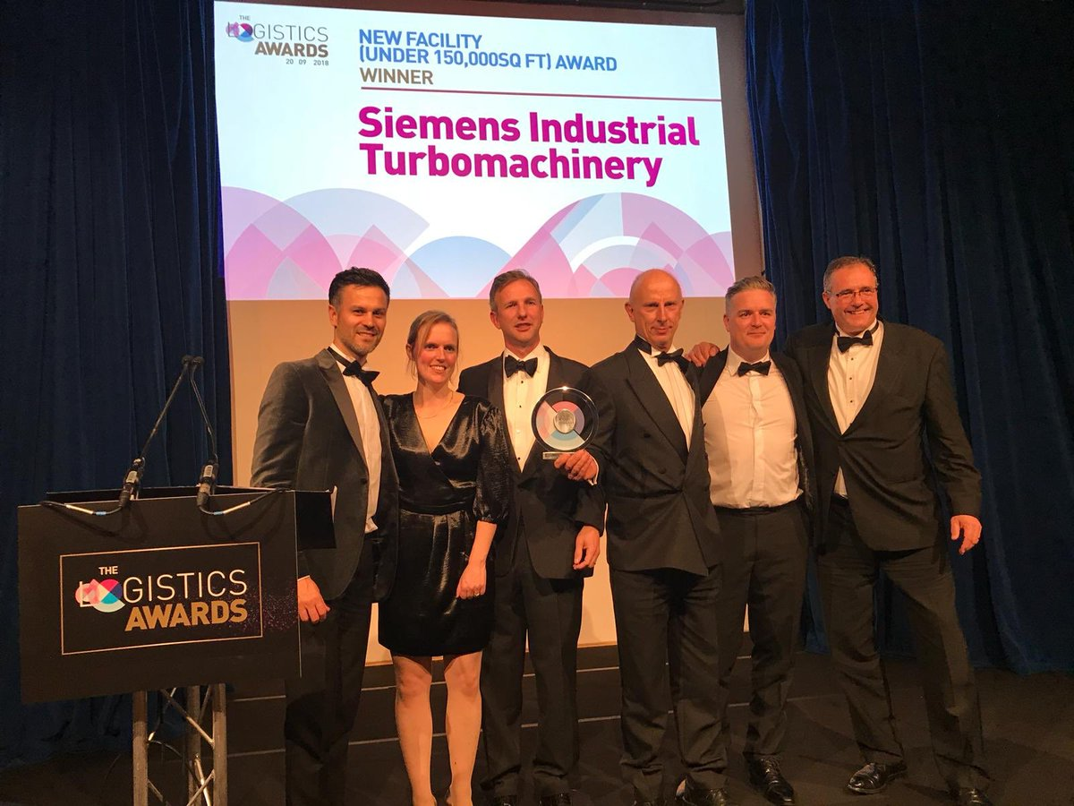 Siemens Wins Award for Its New Centre
