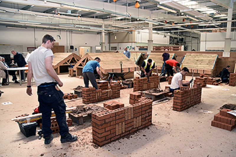 College students Excel in Bricklaying and Plastering Competitions