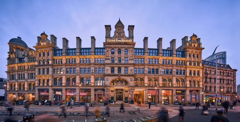 ISG Awarded £13m Manchester Corn Exchange Hotel Development