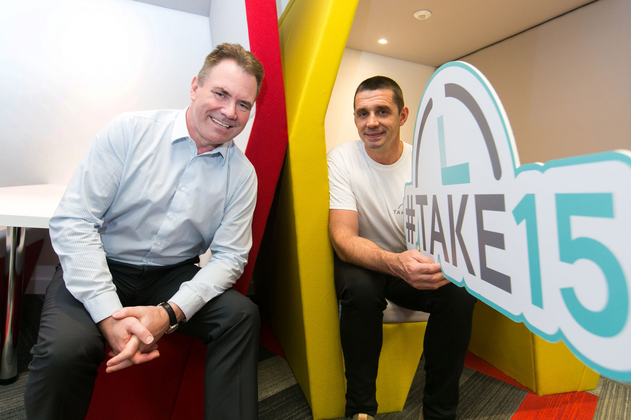 Aramark Supports Mental Health with TAKE15 Campaign
