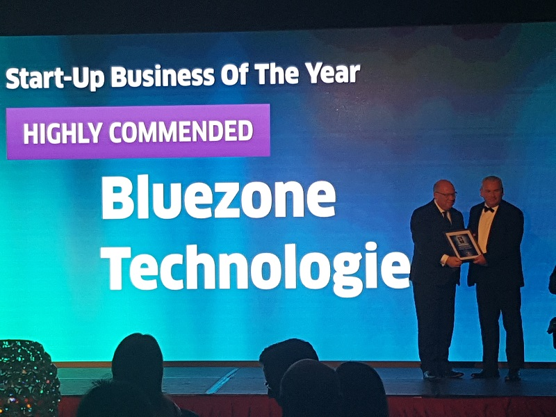 BlueZone Technologies win High Commended Start Up Business of the Year