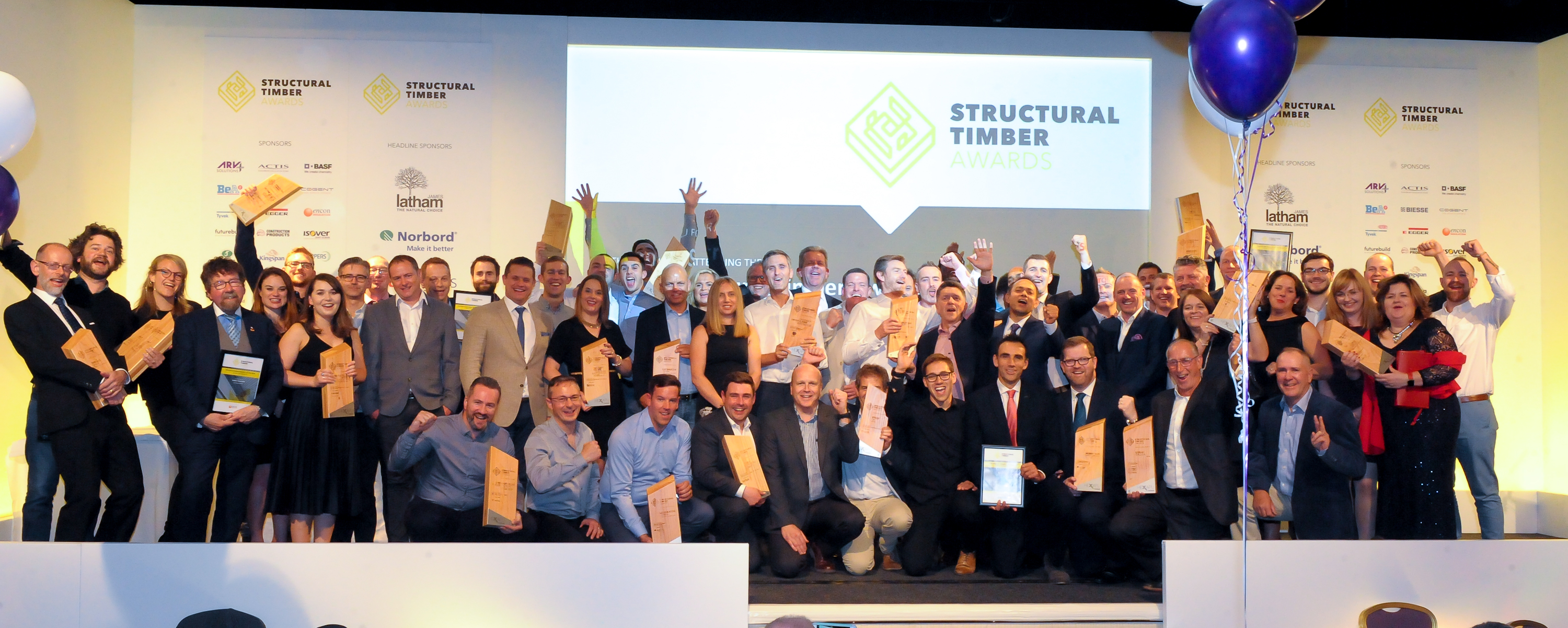 Structural Timber Awards - Winners Announced - Celebrating the Simply Outstanding