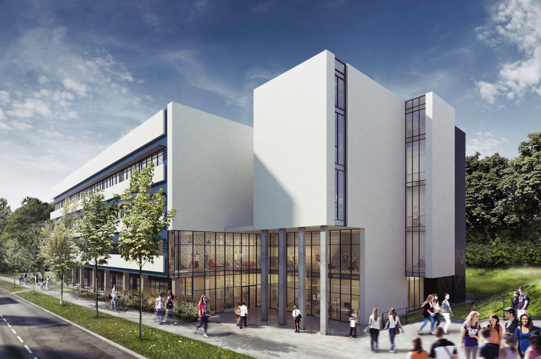 Building for the future at the University of East Anglia