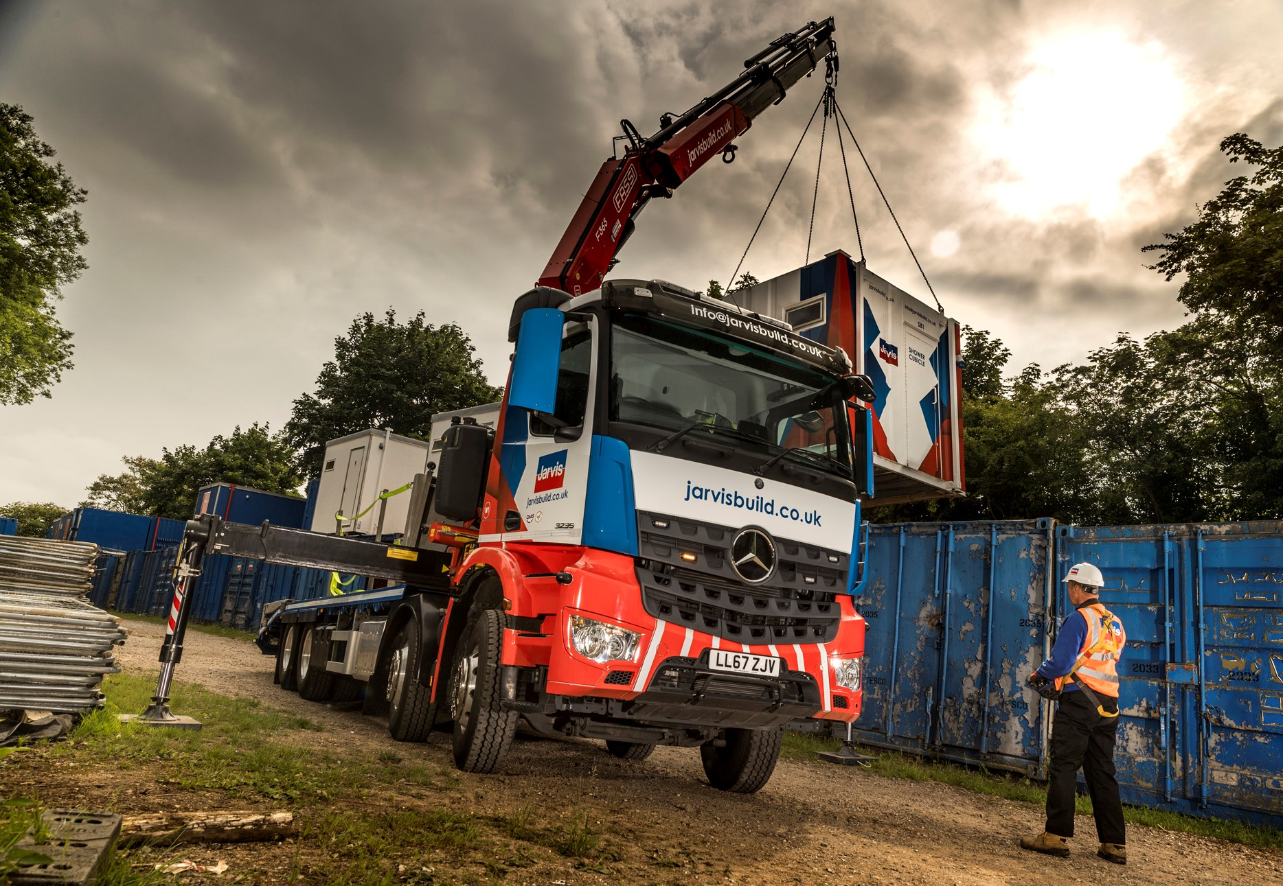 Mercedes-Benz Arocs flagship lifts Jarvis Group to a new high