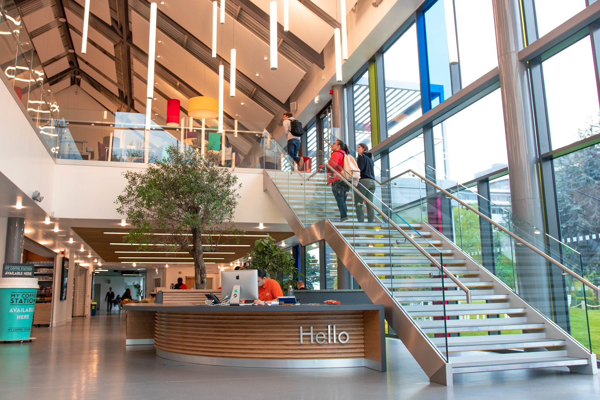 Clegg Construction competes new Students' Union building at Aston University