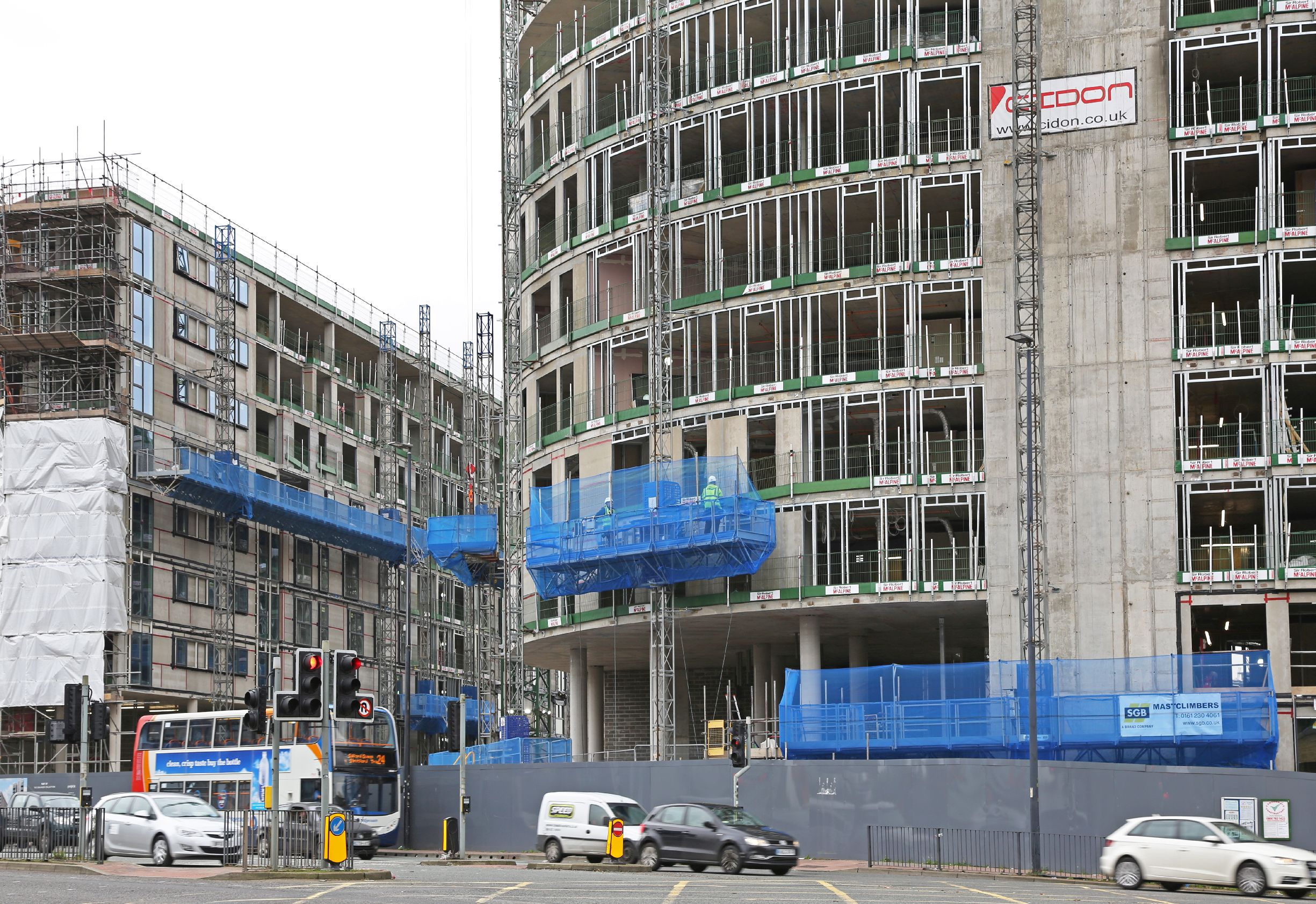 SGB ACCESS SYSTEM SPECIFIED FOR  MAJOR MANCHESTER DEVELOPMENT