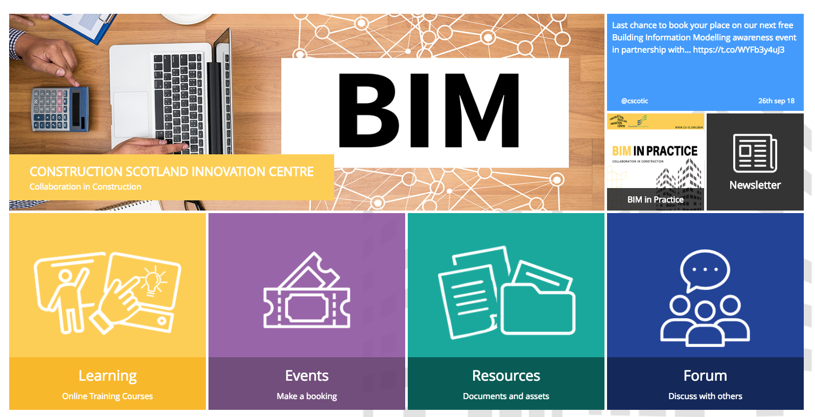 CSIC LAUNCHES FREE BIM E-LEARNING PLATFORM AND INVITES SCOTTISH CONSTRUCTION COMPANIES TO JOIN THE DIGITAL REVOLUTION