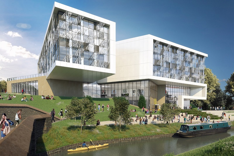 New Building at the University of Huddersfield Receives Royal Approval