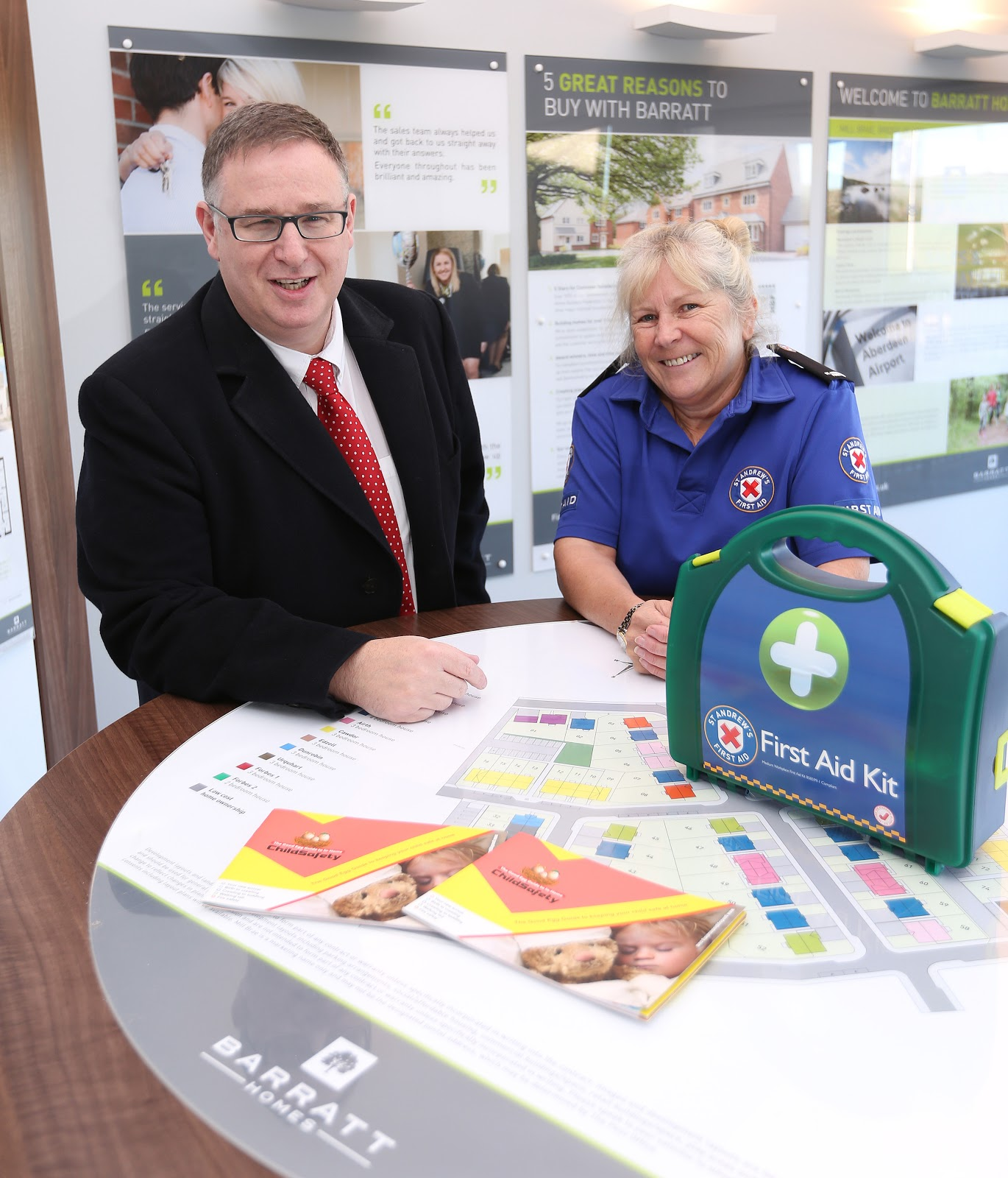Barratt and David Wilson Promote Health and Safety at Home