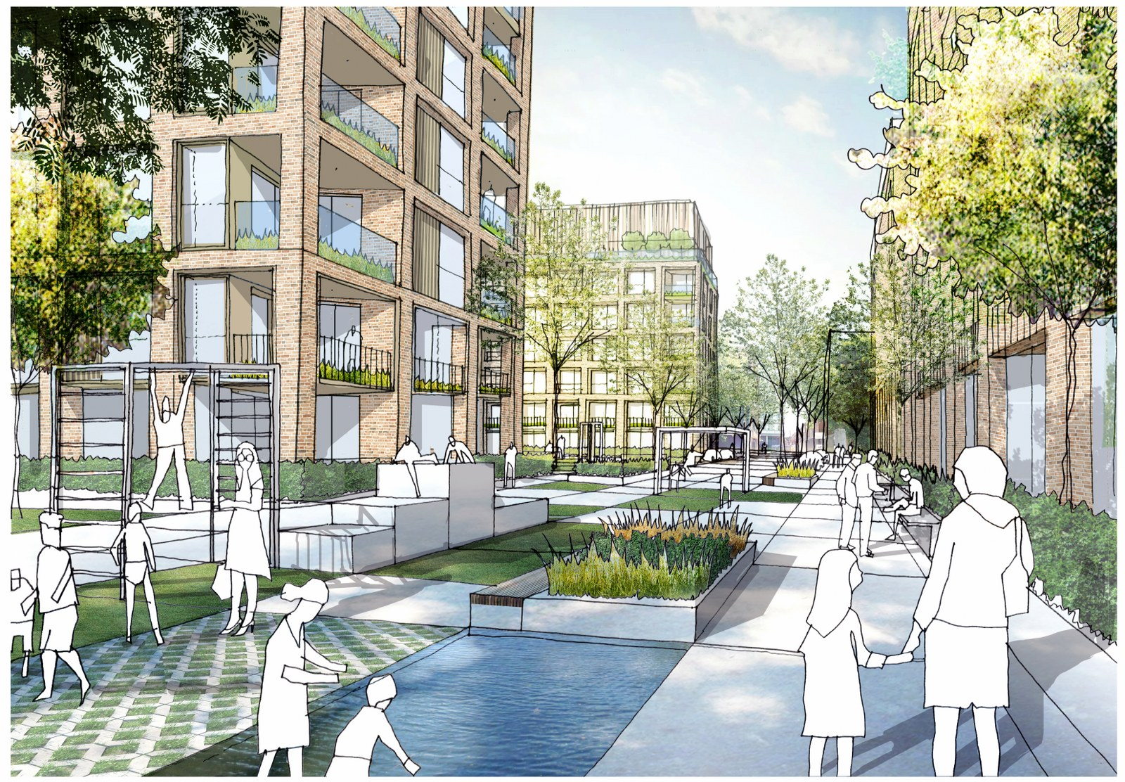 Regeneration scheme in Camberwell receives the green light from residents