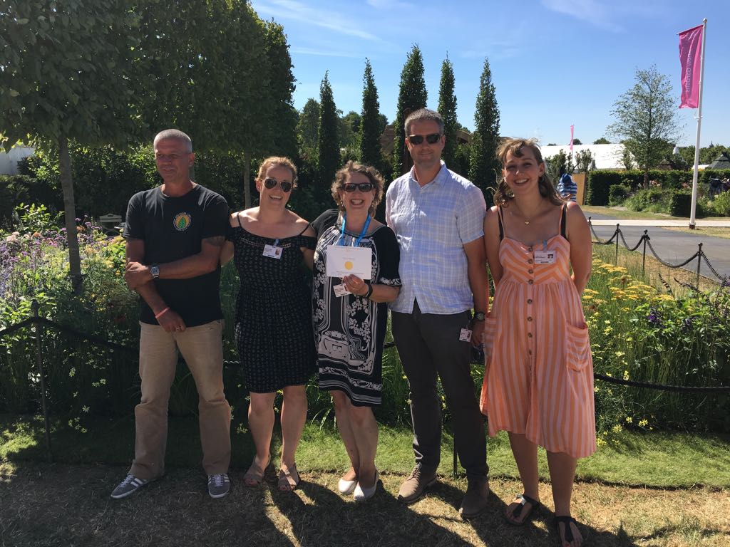 BALI GoLandscape's show garden of two halves awarded Gold at RHS Hampton Court