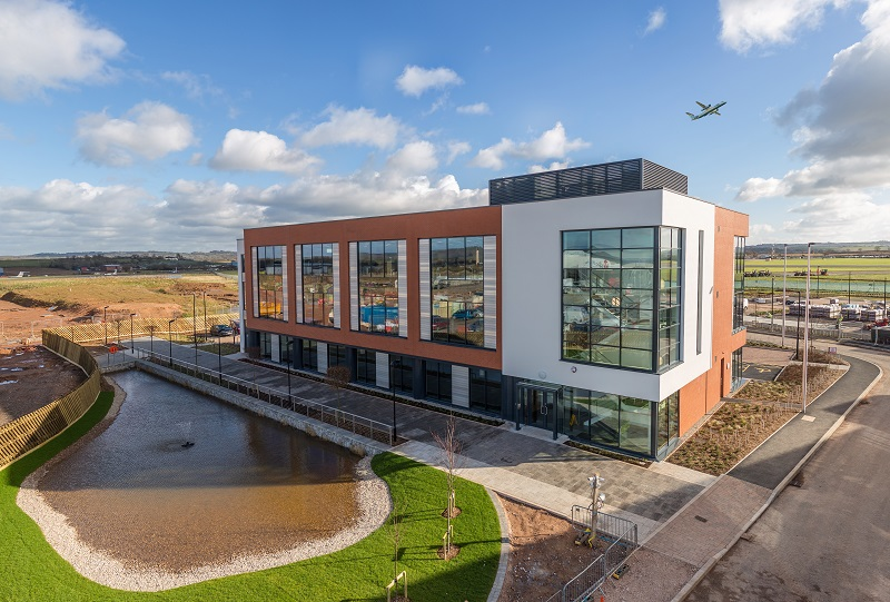 SGP Finalises First Phase of Exeter Skypark Development