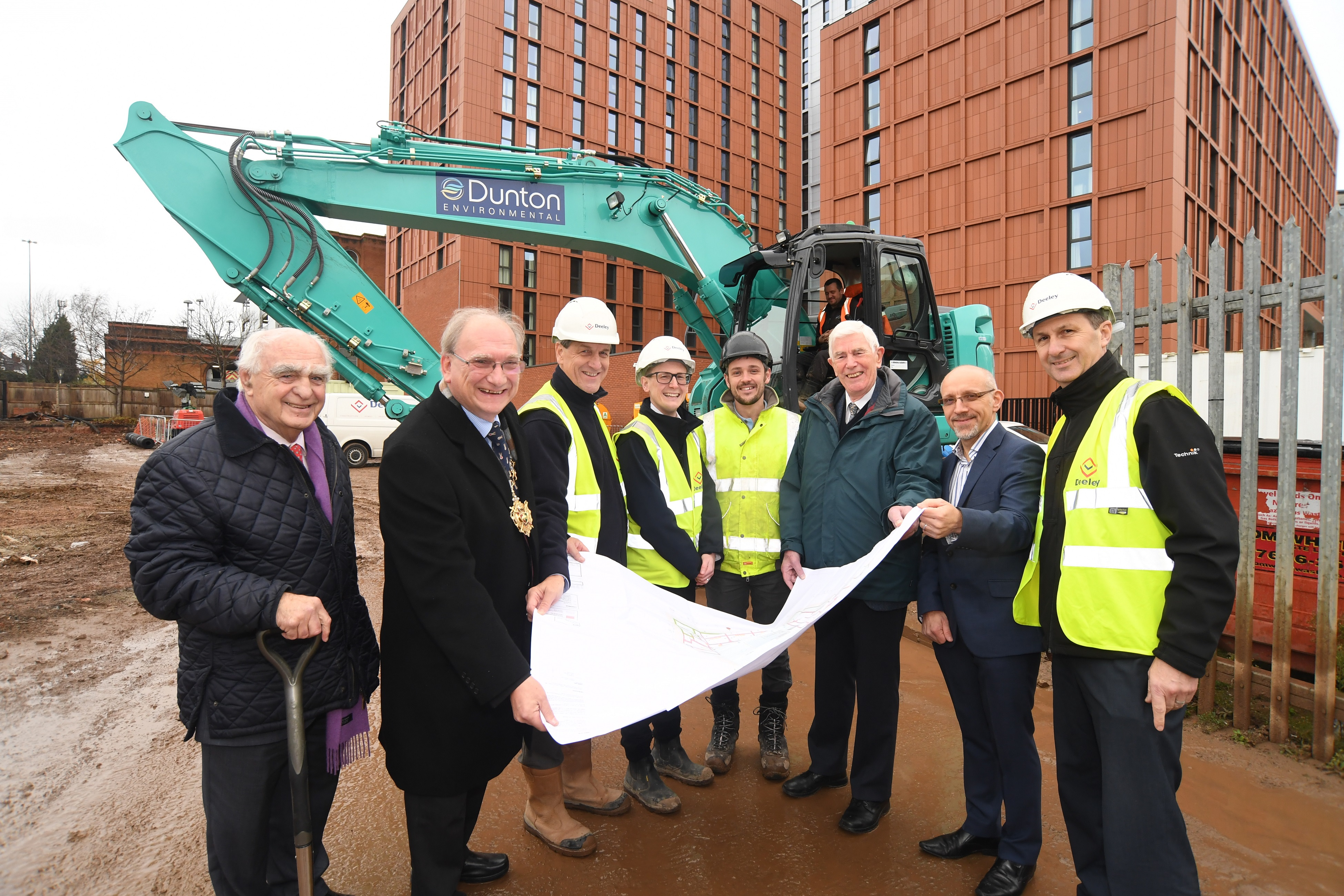 Work starts on new £6.8 million residential development in Coventry City Centre