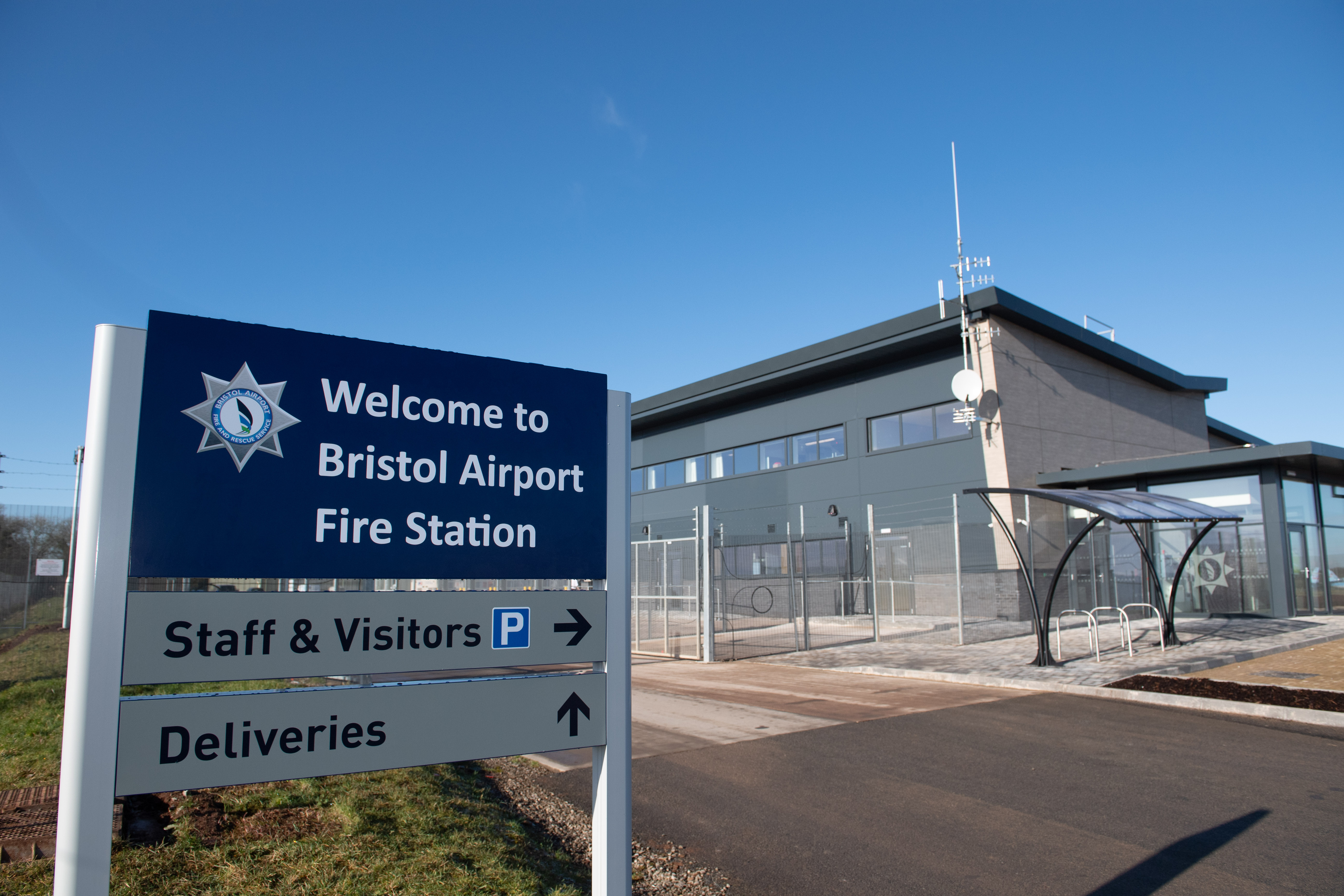 Bristol Airport Fire Station Has Been Handed Over