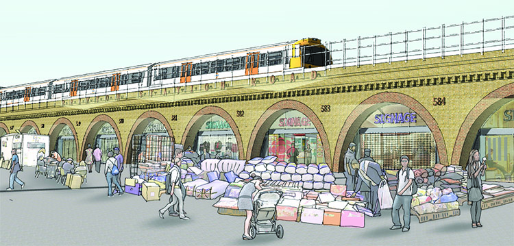 Redeveloping Brixton Arches: but at what price?