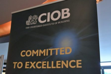 The Chartered Institute of Building (CIOB) launches new course in construction quality management