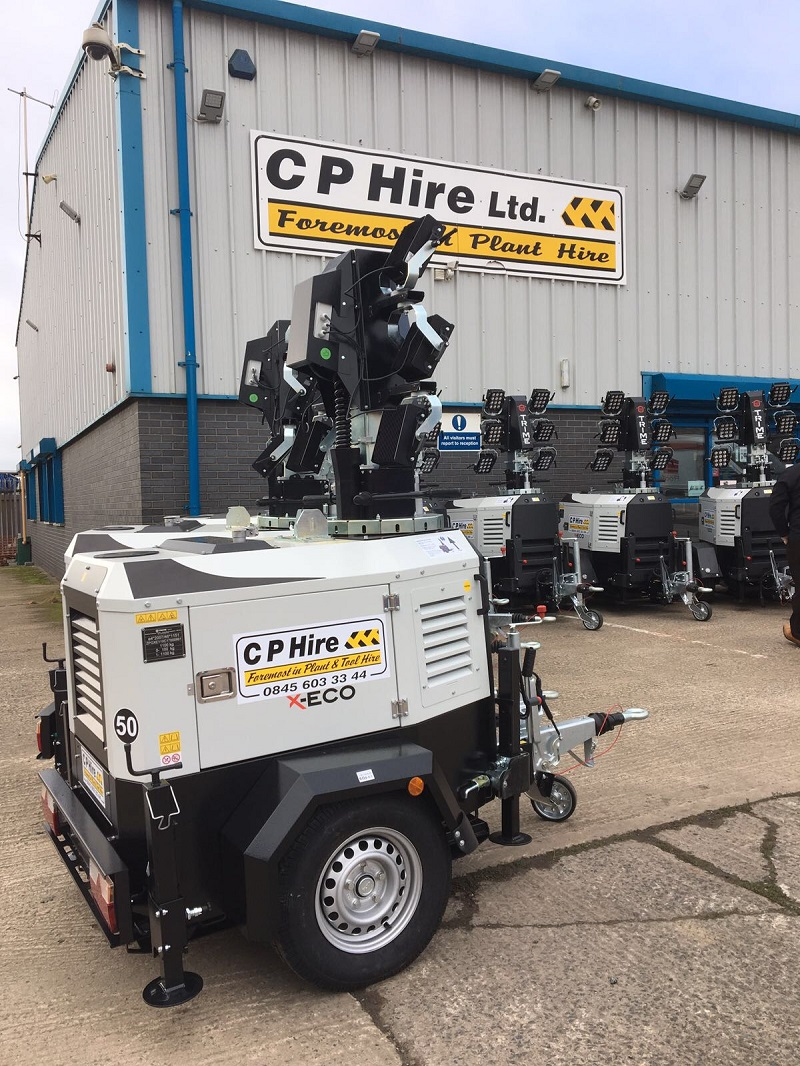 CP Hire Invest in New LED Lighting Fleet