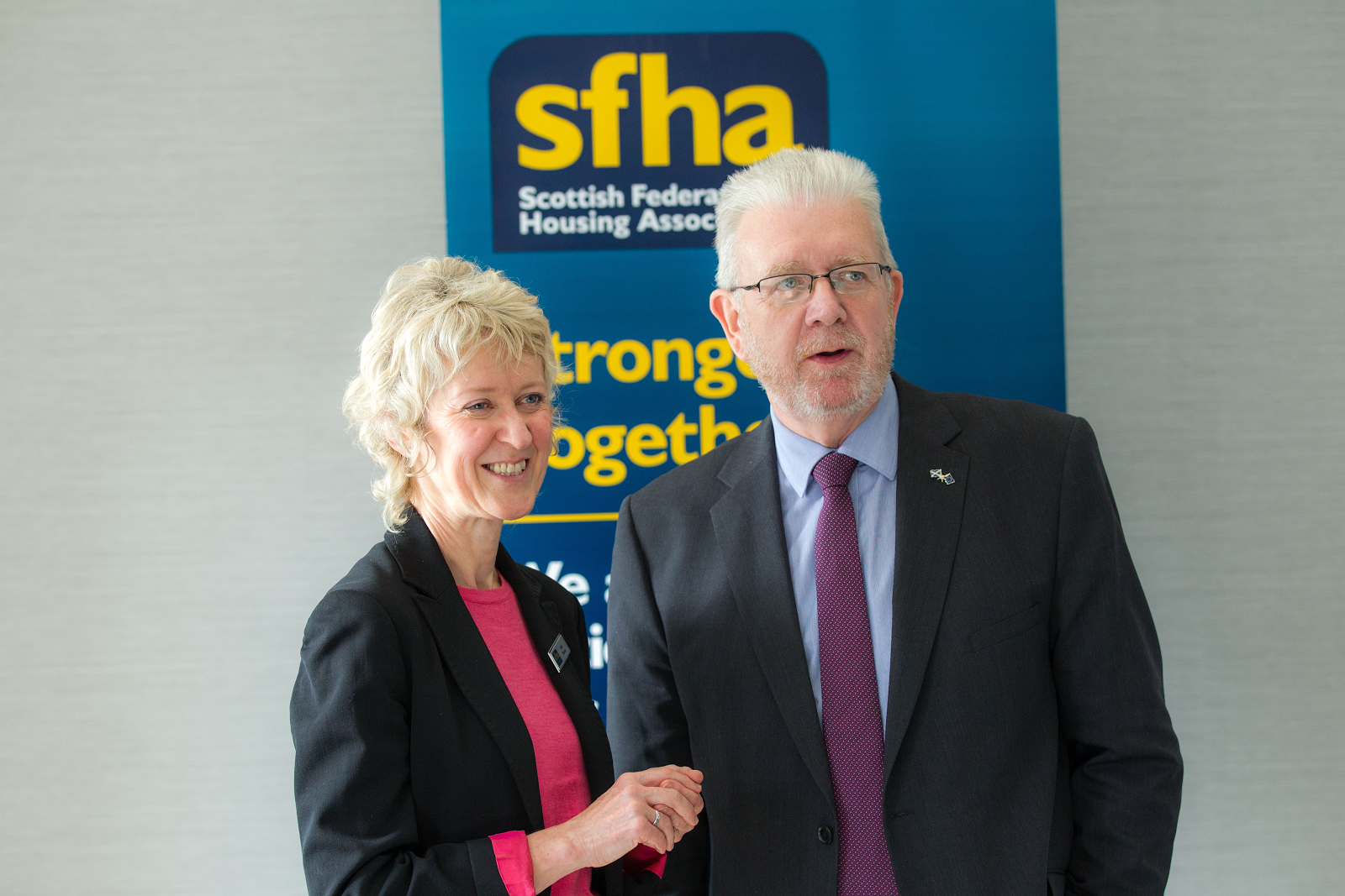 Chief Executive Sally Thomas Discusses SFHA Future