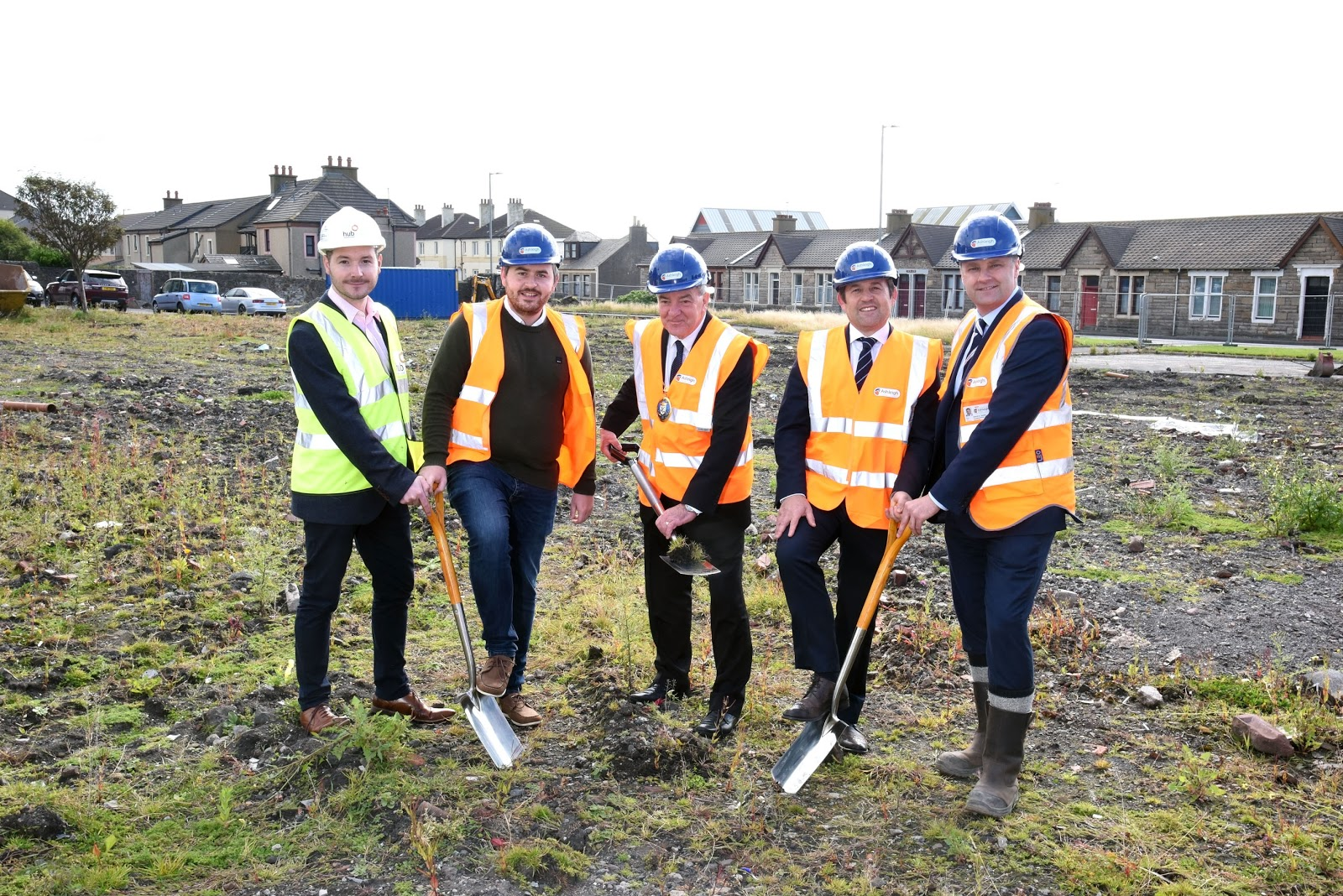 Construction Work Has Started on the New Sheltered Housing Development