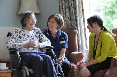 Different Lifting Options Available Within a Care Home Structure