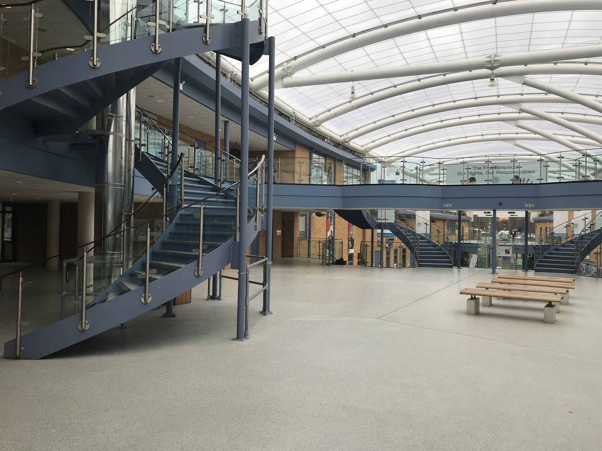 Safety first for busy school's new flooring