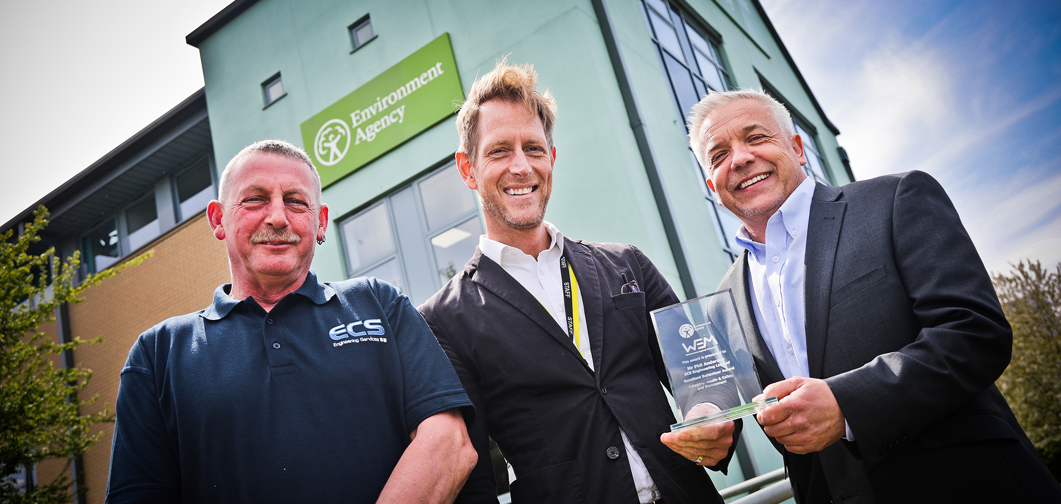 Environment Agency Award recognises ECS impressive Health and Safety Performance