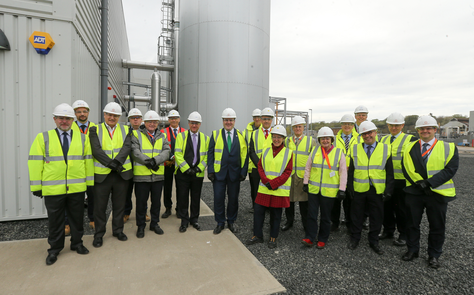 £24 million Glenrothes Heating District Opened