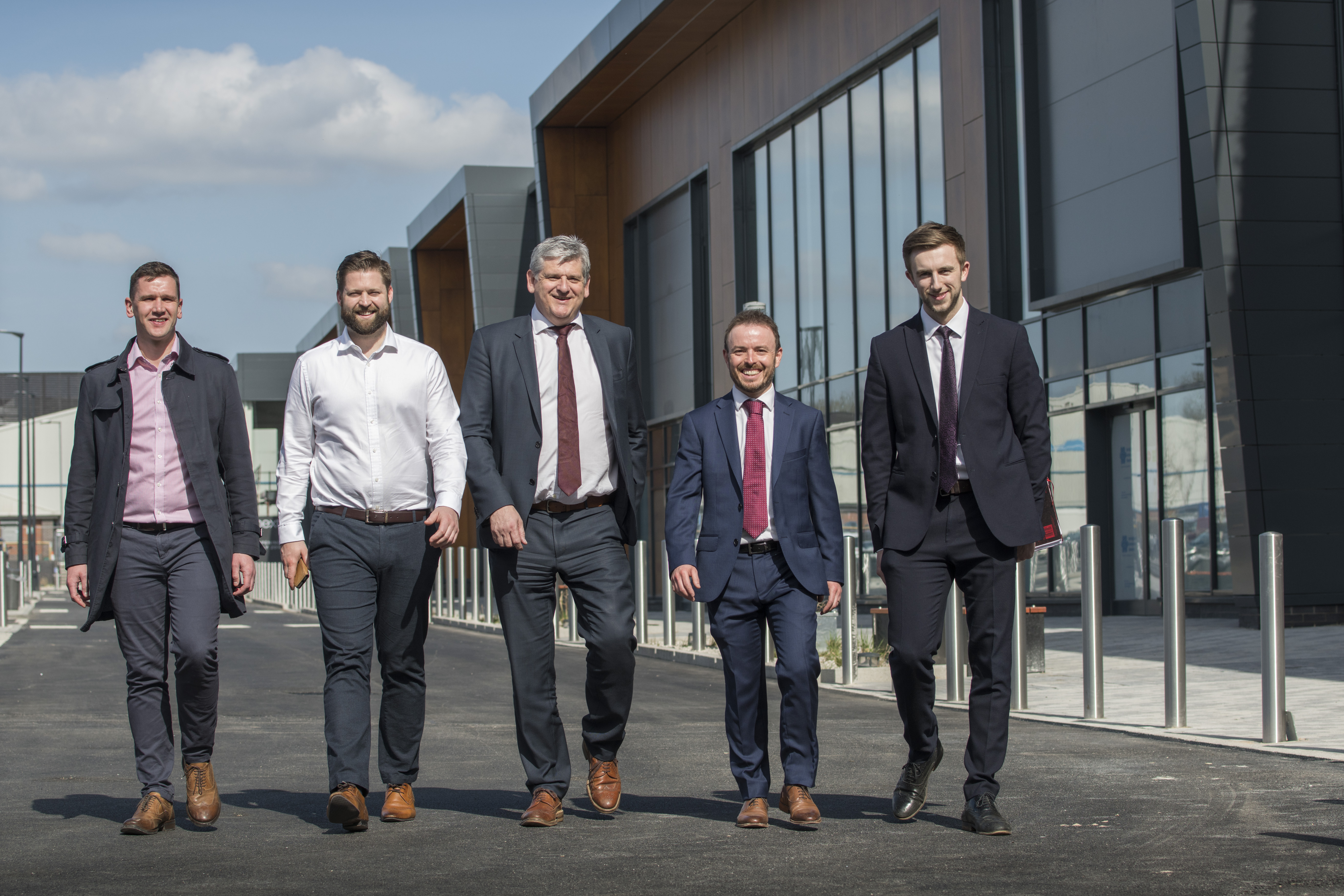 GMI HANDS OVER NEW £35 MILLION RETAIL PARK IN SHEFFIELD FOR OCCUPATION