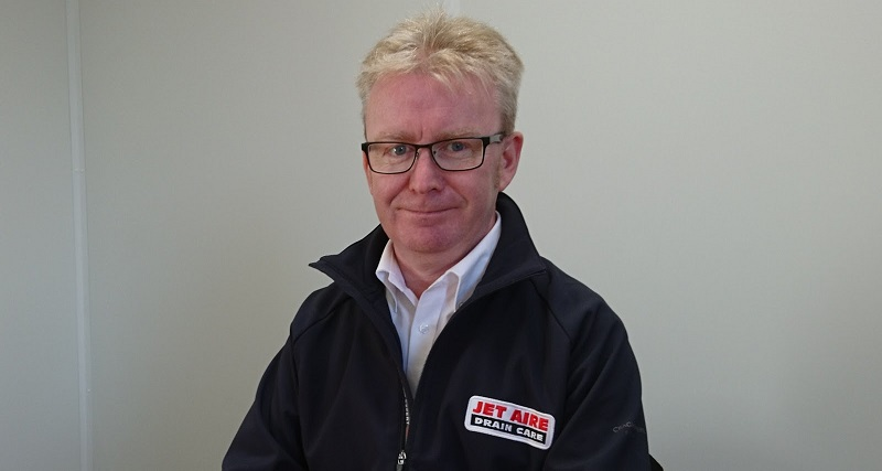 Gavin McCann Appointed as Business Development Manager for Jet Aire Services