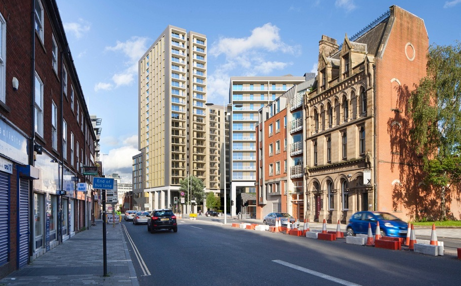 HORBURY FACADES SECURES £4 MILLION GORE STREET CONTRACT