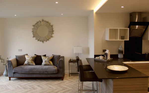 La Scierie (The Saw Mill), Ashford is at the cutting edge of luxury accommodation