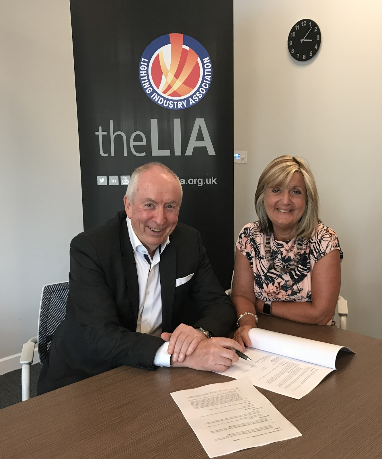 LIA and LAI Sign Agreement
