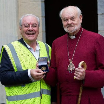 Lee Valley Estates Founder Awarded St Mellitus Medal