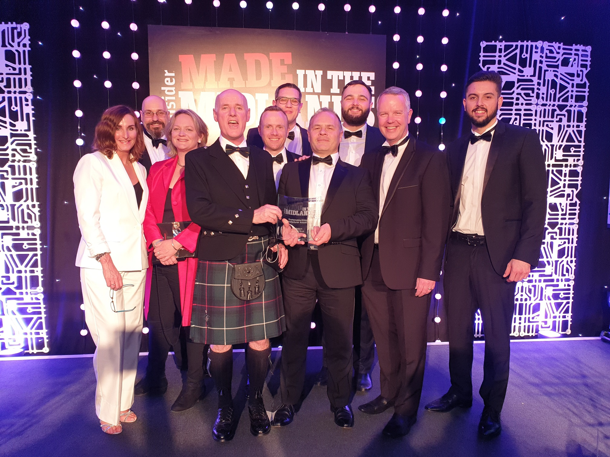 Ibstock Brick Wins Regional Business Award for its Commitment to Sustainability