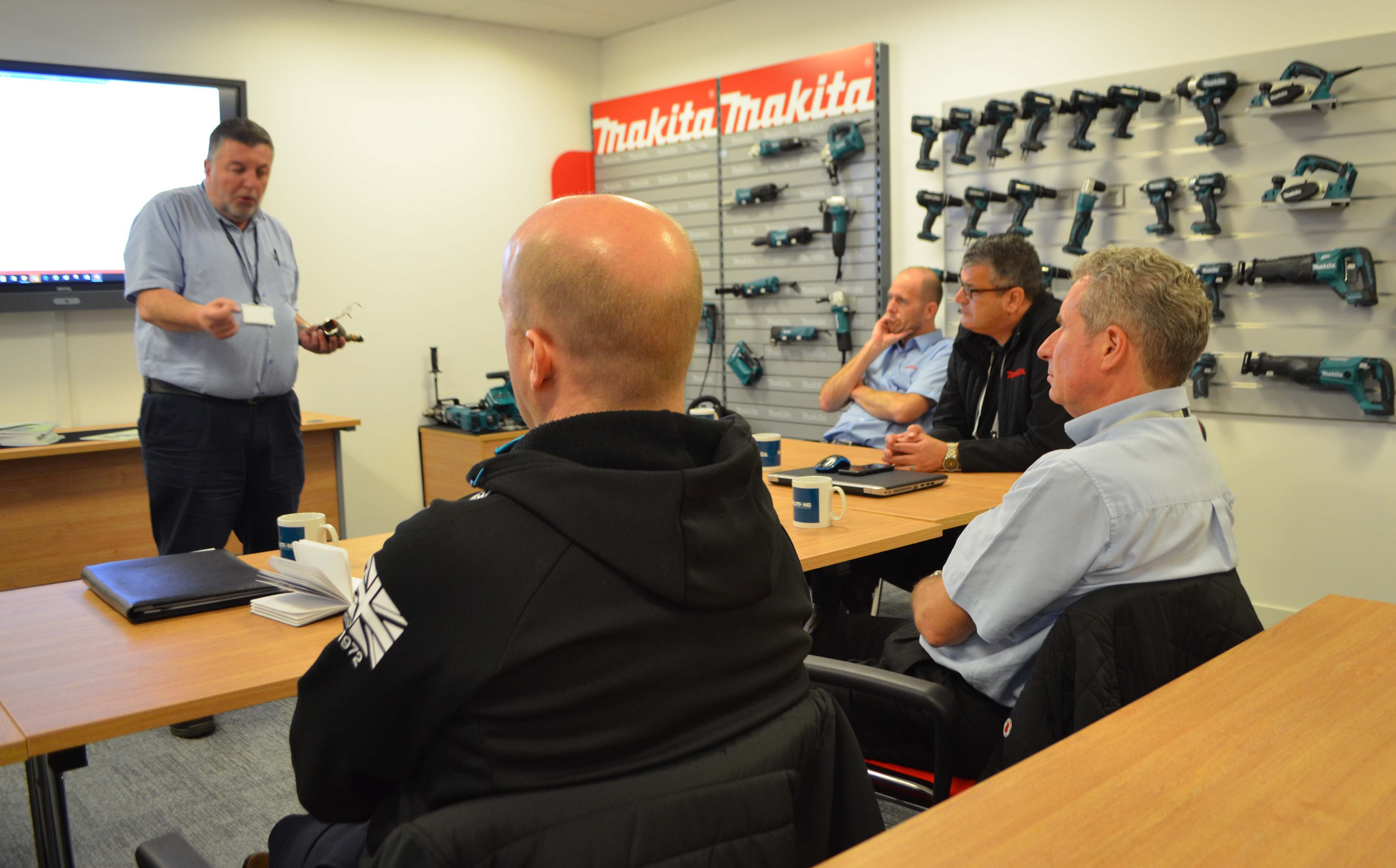 MAKITA'S NEW FACTORY SERVICE CENTRE OPENS IN LONDON