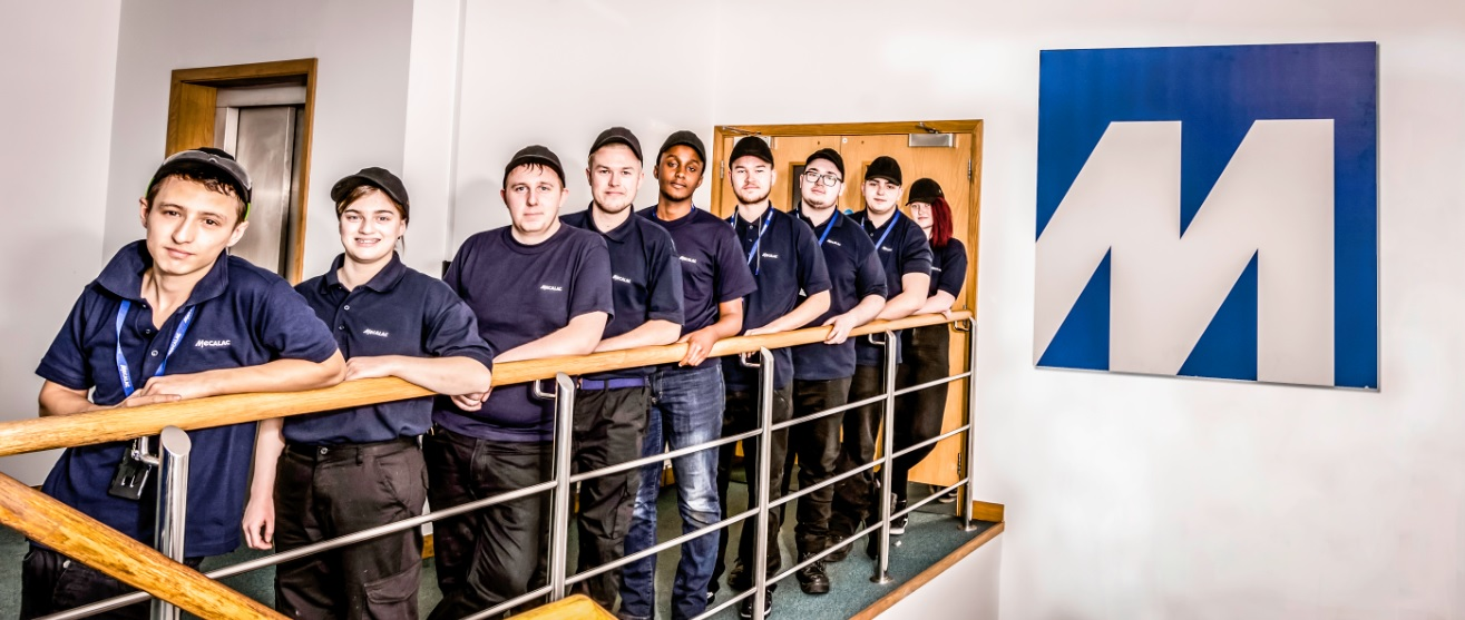 Mecalac welcomes new apprentices to Coventry production site
