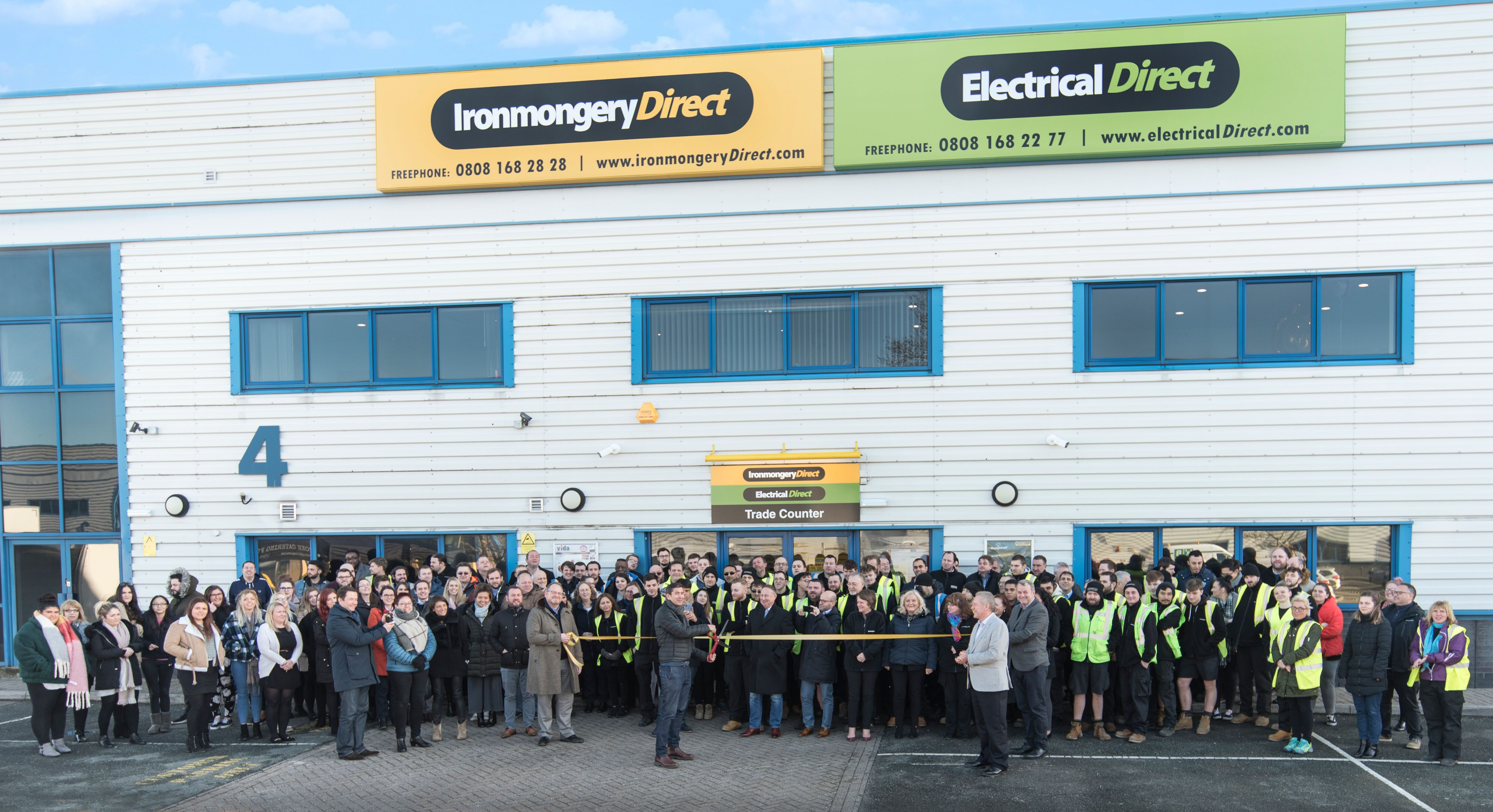 IronmongeryDirect and ElectricalDirect completes major distribution centre expansion and adds 1000's of new products