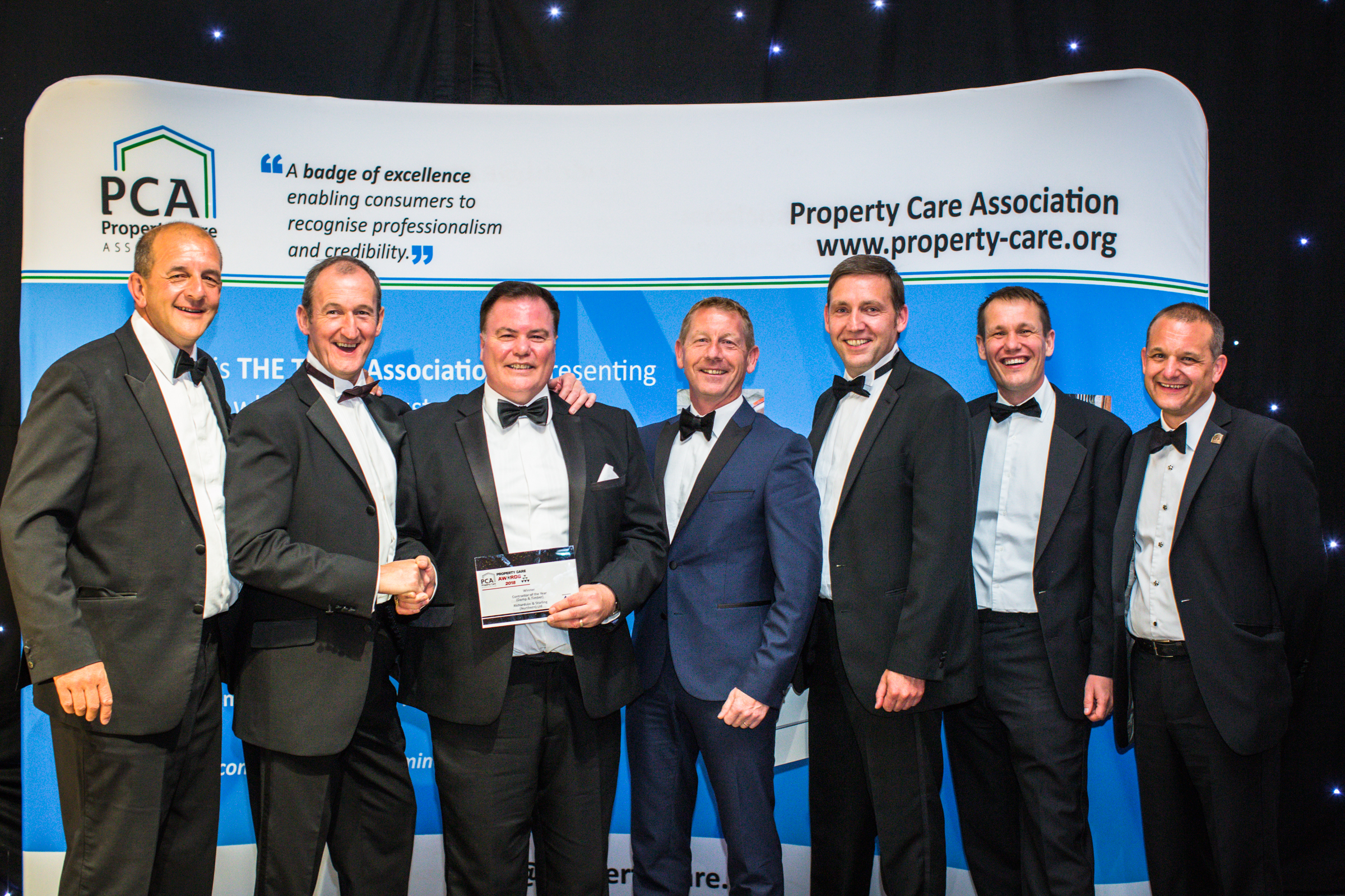 Richardson and Starling celebrate trade title hatrick - Building preservation company picks up collection of awards at trade body ceremony