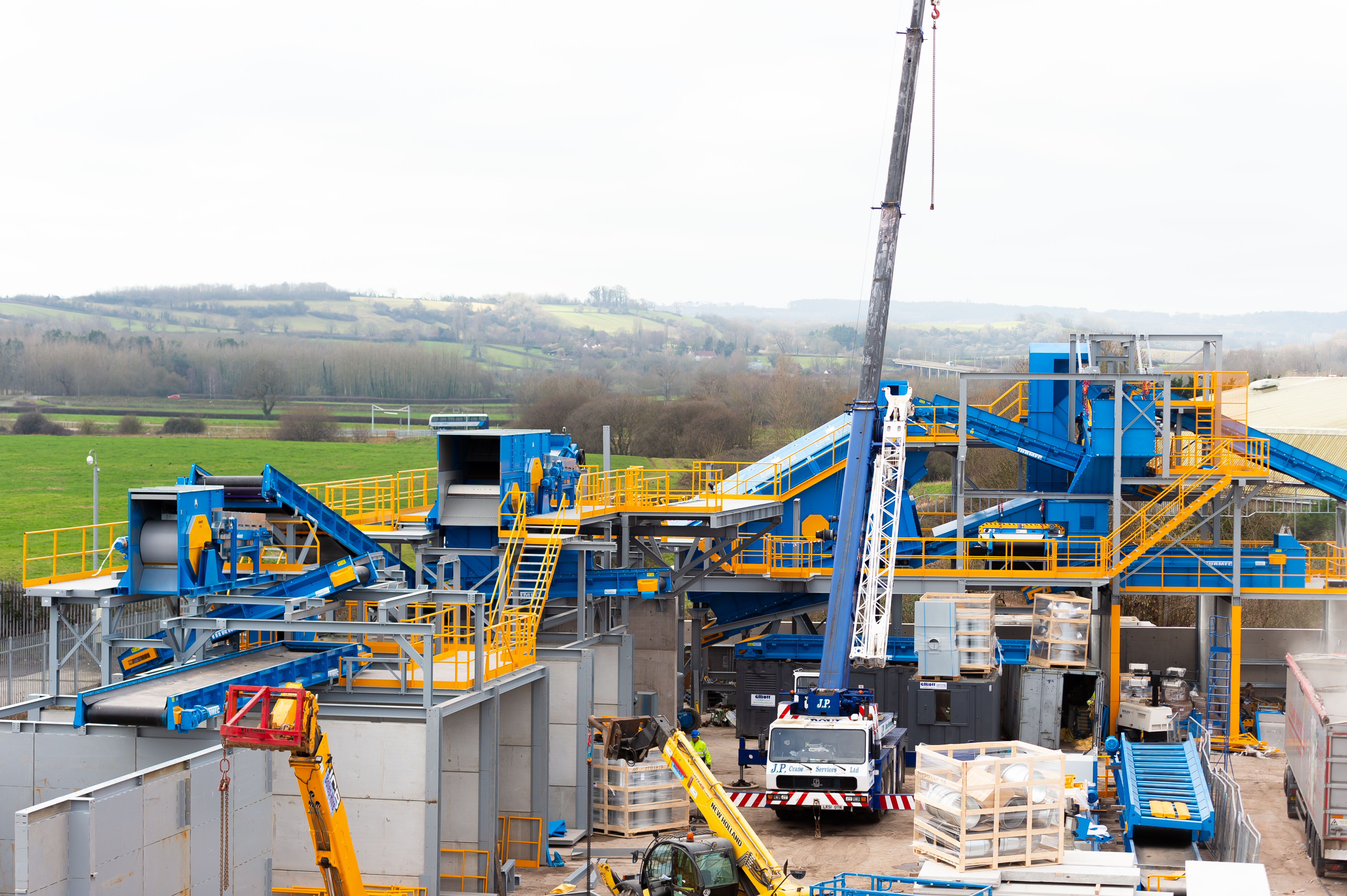 'Impressive' new recycling facility on course to be finished on time